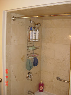 picture of marble tile surround