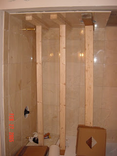 Picture Of Dead Man Supports For Tiled Shower