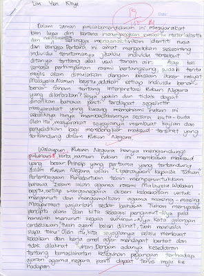 contoh essay biasiswa mara