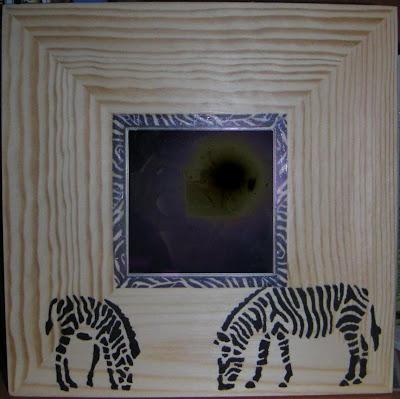 stenciled malma mirrors