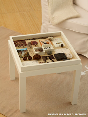 table top memory box