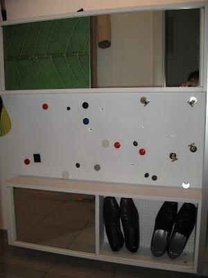 slim shoe cabinet