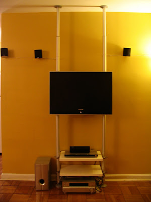 home theatre set display unit