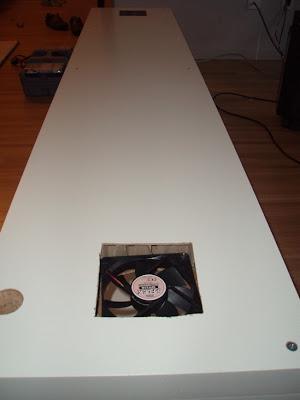fan cooled media cabinet