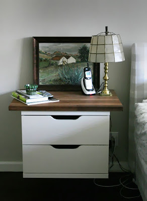 August Vintage Di Wednesday Floating Nightstands