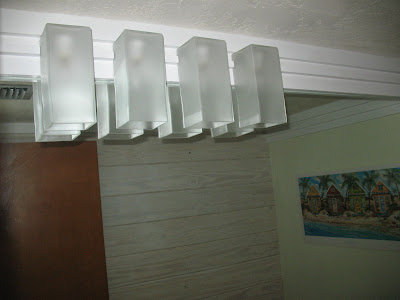 contemporary bathroom light fixture