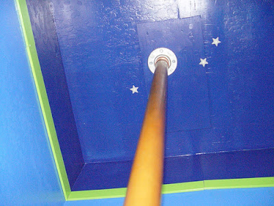 kid rooms fireman pole