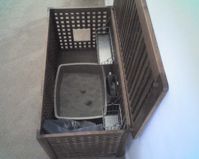 large cat litter box