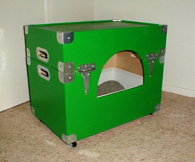 diy cat litter box