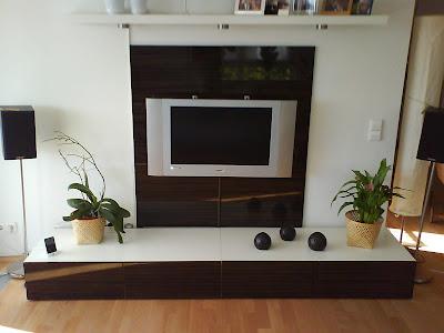 a flat tv wall combo unit. Black Bedroom Furniture Sets. Home Design Ideas