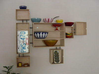 wall display unit