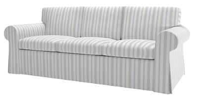bemz eggshell blue sofa slipcover