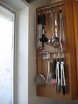 kitchen utensils storage