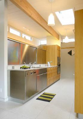 stainless steel sliding kitchen doors