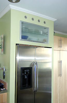 built in fridge