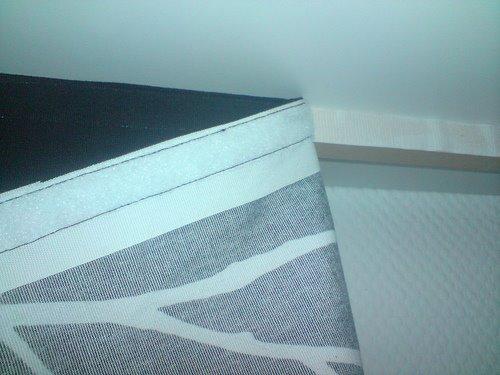 changeable fabric headboard