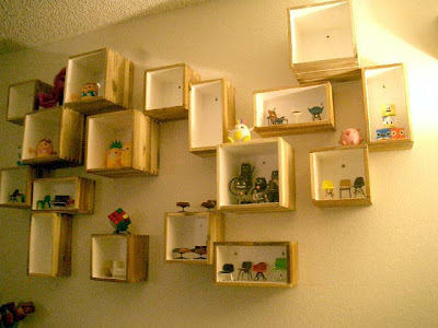 wall display boxes