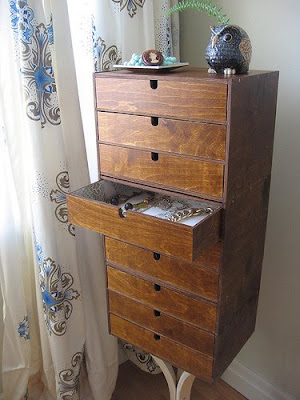Angie S George Nelson Inspired Jewelry Cabinet Ikea