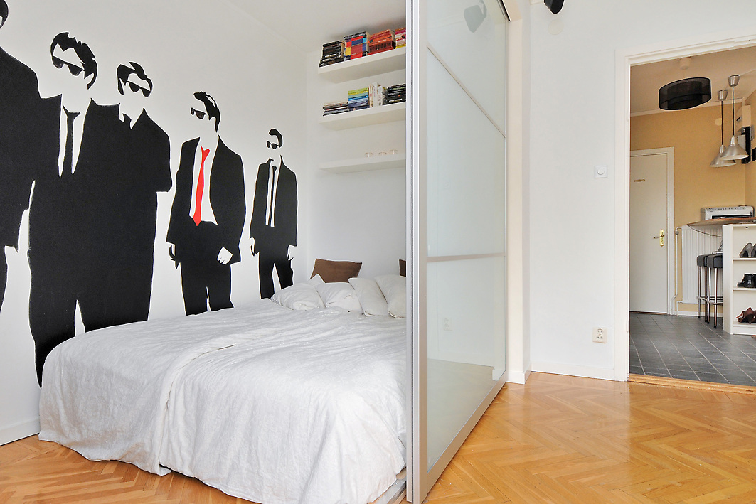 Turn your studio apartment into a 1 bedroom with pax - Studio apartment divider ideas ...