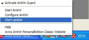 online update antivir