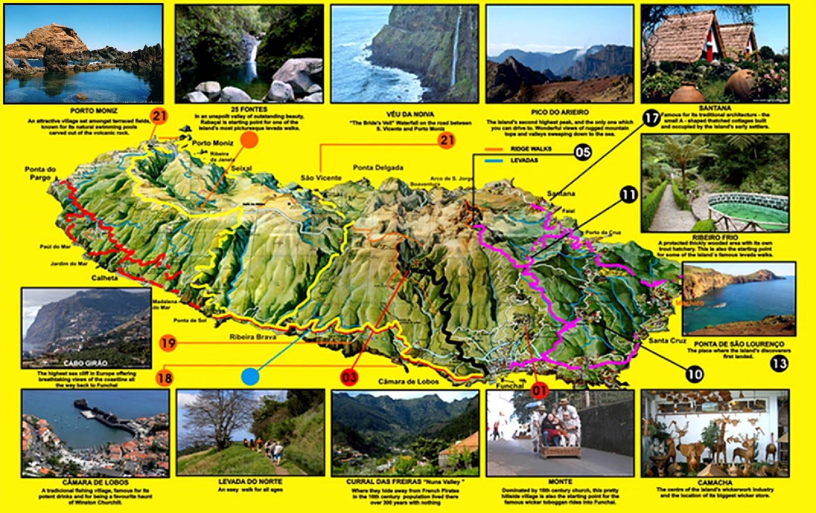 mapa madeira 3d Guía de Madeira (Portugal) | La Vuelta al Mundo de Asun y Ricardo mapa madeira 3d