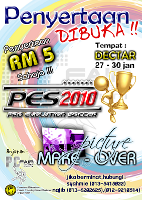 UKM PC FAIR 2010, DECTAR, 27-30th January 2010