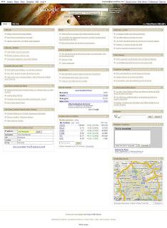 My iGoogle Home Page