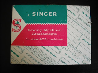 Sew There Tammy Singer 403a Sewing Machine Attachments
