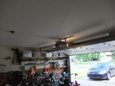 how to quickly and easily add lights to garage