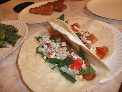 crispy fish tacos, recipe, ingredients