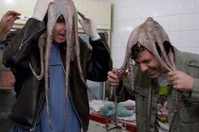 Who Can Keep a Dead Octopus on Their Head the Longest, kenny vs spenny