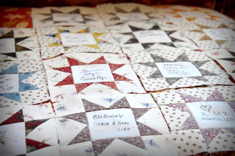 Quilt Otaku Wedding Signature Quilt Just In Time For