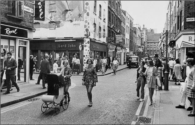 London in the 60s swinging
