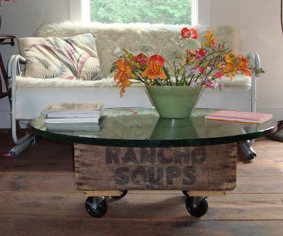 maya made diy build your own coffee table in under an hour. Black Bedroom Furniture Sets. Home Design Ideas