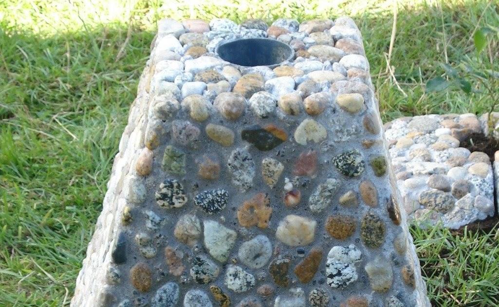Adornos en piedra r stica para jardines monolito para - Baneras de piedra ...