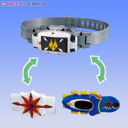 Triple Change Henshin Belt
