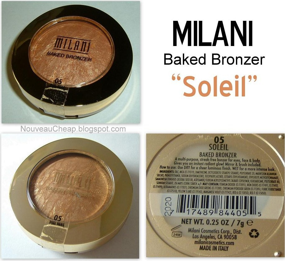 how to use baked bronzer