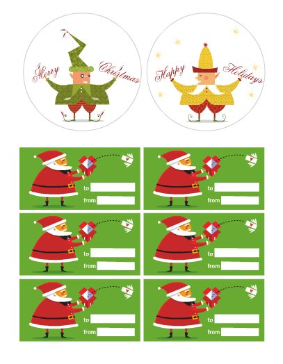 littlethings - 30+ FREE Christmas Printables