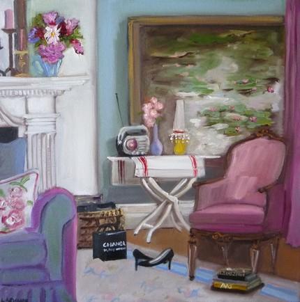 Beautiful Interiors in Art