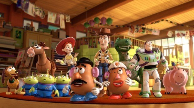The Toy Story Crew