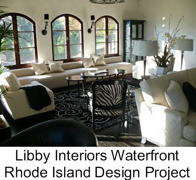 Rhode Island Design Job Designer Libby Langdon Recently Finished An Interior Project Involving 8 000 Square Feet New Construction Home Situated