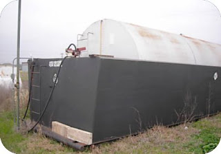 Measurement And Other Info Of 9200 Gallon Fuel Containers Containment Width At Bottom 99 Inches Top 112 OAL 368 30 Feet