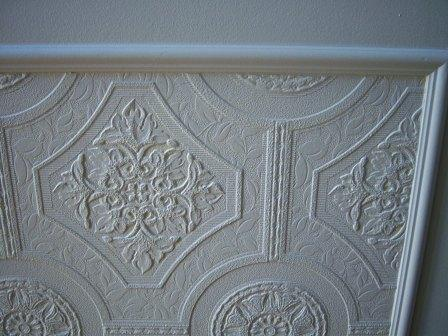 Remodelaholic   Faux Carved Wainscoting Using Paintable ...