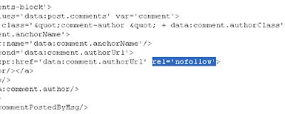 No Follow HTML