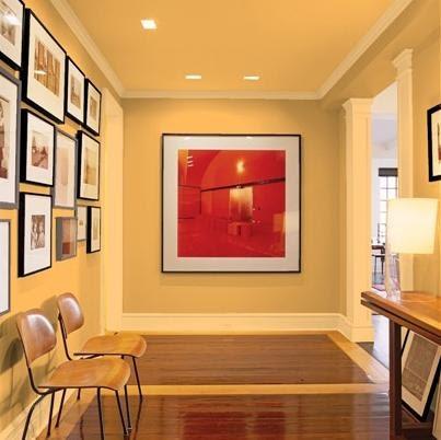 Decoracion de hall recibidores pasillos fotos - Fotos de recibidores de pisos ...