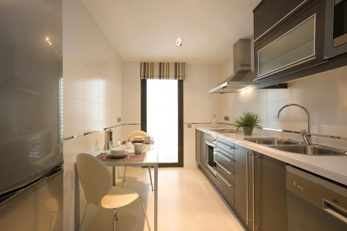 Cocinas peque as modernas y actuales ideas de dise os - Fotos de cocinas pequenas y modernas ...