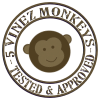 5 Vinez Monkeys Seal of Approval