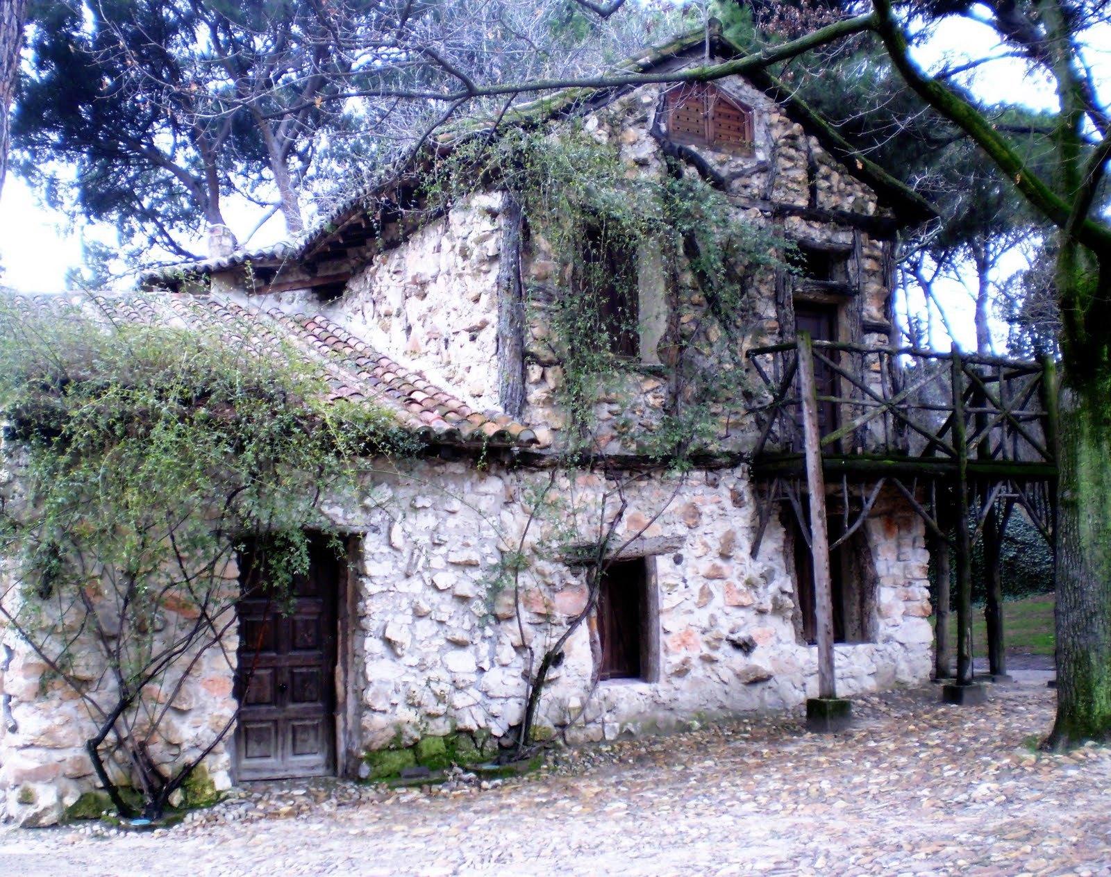 Pasi n por madrid las casas r sticas de los jardines for Jardines de casas rusticas