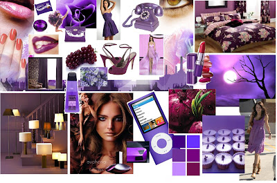 Colour And Fashion Trends Web Log 08 Mood Board Purple