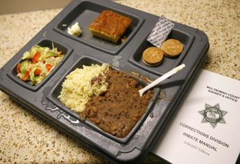 Federal Prison Food Menu